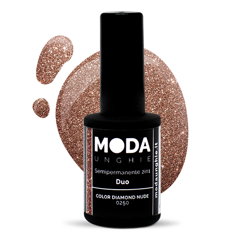 Duo Color Diamond Nude Semipermanen...