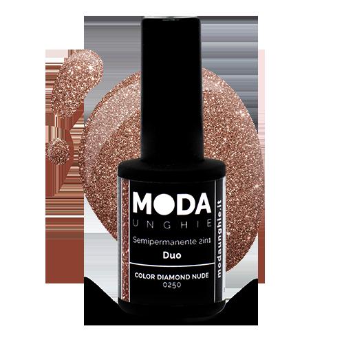Duo Color Diamond Nude Semipermanente