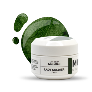 Gel Color Metallici Lady Soldier