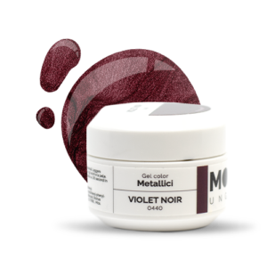 Gel Color Metallici Violet Noir