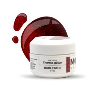 Gel Color Thermo Glitter Burlesque