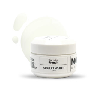 French Gel Sculpt White