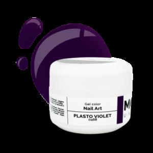 Gel Color Nail Art Plasto Violet