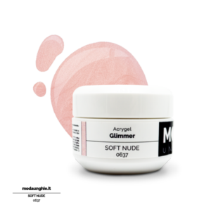 Acrygel Glimmer Soft Nude