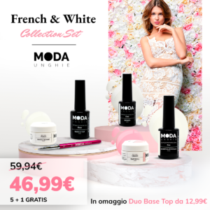 French & white collection set